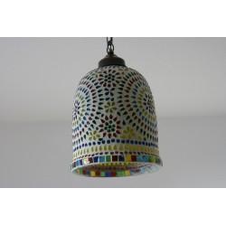 Mosaiklampenschirm in indischem Design, Deckenlampe