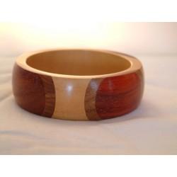 Holzarmreif helles Holz