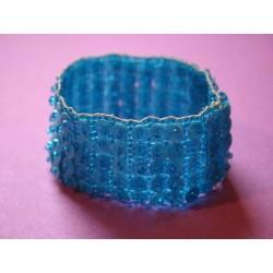 Elastisches Armband blau
