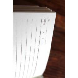 Tagebuch Stoff Thailand mit Elefant 19x14 cm- THAI007