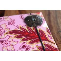 Diary fabric Thailand with elephant 19x14 cm - THAI013