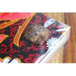 Tagebuch Stoff Thailand mit Elefant 19x14 cm - unliniert - THAI017