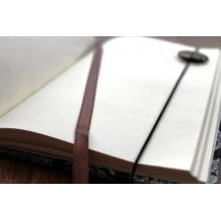 Tagebuch Stoff Thailand mit Elefant 19x14 cm - unliniert - THAI016