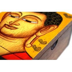copy of Holzdose Buddha