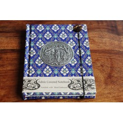 Diary cloth Thailand with elephant 15x11 cm - lined - THAI039