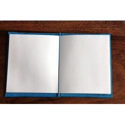 Winziges Notizbuch Stoff Thailand mit Elefant 10x8 cm- Gelb