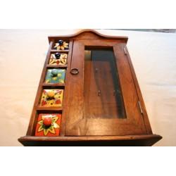 2. Wahl: Schlüsselschränkchen mit Keramikschubladen - SCHRANK-5001A