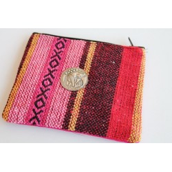Kleine Geldbörse / Täschchen aus Stoff - BÖRSE306