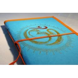 Notizbuch / Tagebuch OM 18x12,5 cm