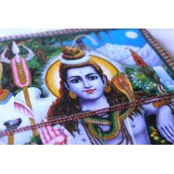 Typisches indisches Notizbuch mit Shiva (groß)