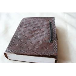 2. Wahl: Notizbuch / Tagebuch mit Blumenmuster 15x11 cm