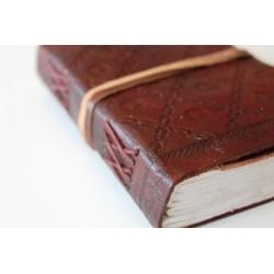 2. Wahl: Notizbuch 15x11 cm - LEDER-N040C