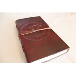 2. Wahl: Notizbuch mit OM Symbol 23x13 cm
