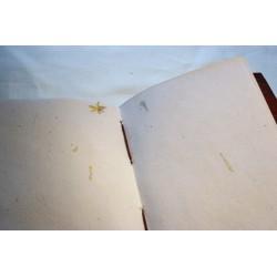 2. Wahl: Notizbuch mit Elefantenmotiv 15x11 cm - LEDER-N010DD