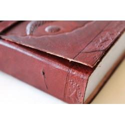 2. Wahl: Notizbuch mit OM Symbol 15x11 cm
