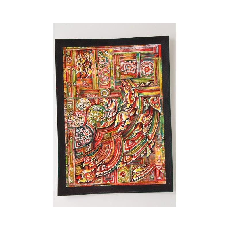 Zeichnung Ornamente Thailand - BILD104