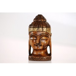 Buddha aus Naturholz