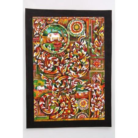 Zeichnung Ornamente Thailand - BILD111