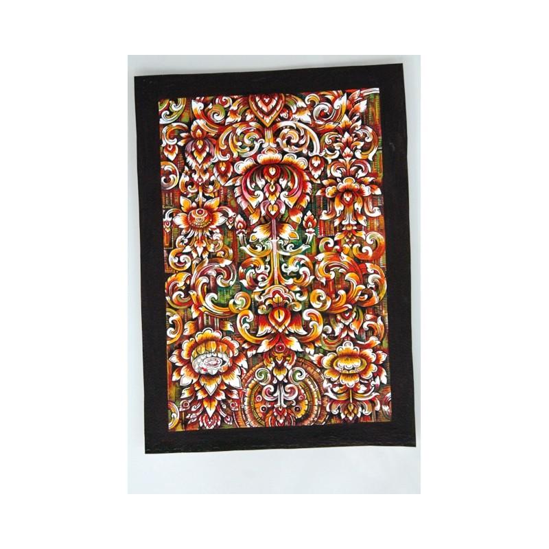Zeichnung Ornamente Thailand - BILD112
