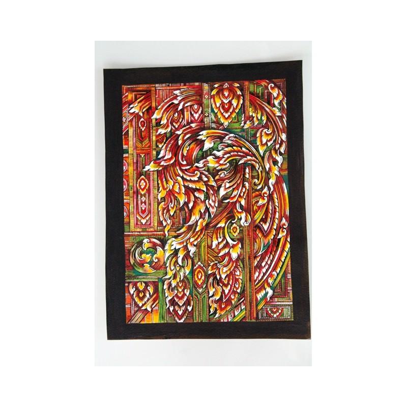 Zeichnung Ornamente Thailand - BILD116