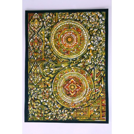 Zeichnung Ornamente Thailand - BILD117