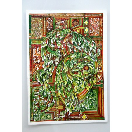 Zeichnung Ornamente Thailand - BILD119
