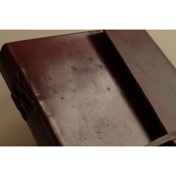 Notizbuch glattes Leder 23x14 cm