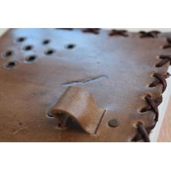 2. Wahl: Notizbuch aus Leder mit Naturholzstift 14x18 cm