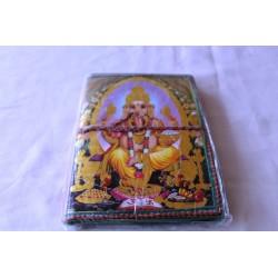 Typisches indisches Notizbuch Ganesha (mittel)