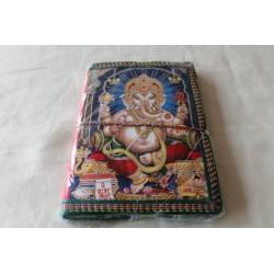 B-Ware: Typisches indisches Notizbuch Ganesha (mittel) - NOTIZ-OM063