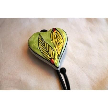 Wandhaken Herzform