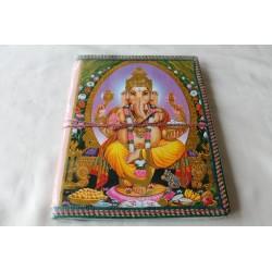 Typisches indisches Notizbuch Ganesha (groß) - NOTIZ-OG114