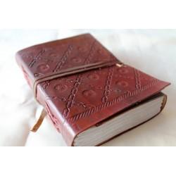 2. Wahl: Notizbuch 15x11 cm - LEDER-N040A
