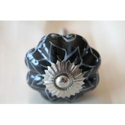 Möbelknopf Keramik handbemalt