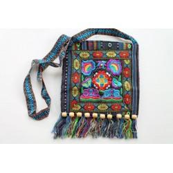 Einfache Tasche aus Thailand, Boho-Stil, Ethno-Stil - TASCHE111
