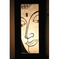 Lampe Thailand Bhudda Weiß