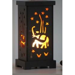 2. Wahl: Lampe Thailand in Orange Elefant