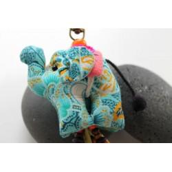 Schlüsselanhänger Taschenanhänger Elefant Rosa